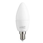Lampada - Led - candela - 5,5W - E14 - 4000K - luce bianca naturale - MKC