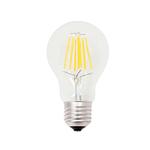 Lampada - Led - goccia - A60 - a filamento - 7,5W - E27 - 3000K - luce calda - MKC