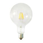 Lampada - Led - G125 - a filamento - 8W - E27 - 3000K - luce calda - MKC