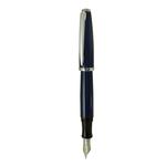Penna stilografica Aldo Domani - punta M - blu - Monteverde