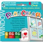 Window colors - 10gr - colori per vetro - Instant - astuccio 6 colori brillanti