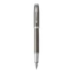 Penna Stilografica IM Premium - Metal Chiselled - stilo M - dark - Parker