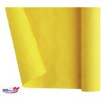 Tovaglia di carta - larghezza 120 cm - giallo - Dopla - rotolo da 7 mt
