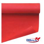 Tovaglia di carta - larghezza 120 cm - rosso - Dopla - rotolo da 7 mt
