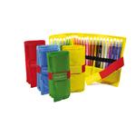 Astuccio Roll Up 24 pennarelli - colori assortiti - Carioca