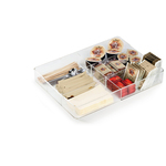 Organizer da cassetto Coffee Point - 4,8x24,2x32,9 cm - acrilico - trasparente - Durable