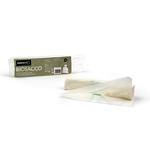 Biosacco per immondizia - 42x42 cm - 10 L - 19 micron - bianco - Perfetto - rotolo da 15 sacchi