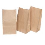 Sacchetti - carta kraft - 22x40 cm - soffietti laterali 7 cm - 45 gr - avana - Rex Sadoch - conf. 100 pezzi