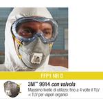 Scatola 10 mascherine 9914 con carboni attivi ffp1