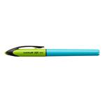 Penna uni-ball air micro punta micro fusto azzurro uni