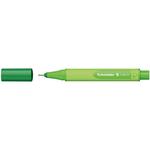 Pennarello Link-It punta feltro - punta 1,00mm - verde abete - Schneider