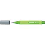 Pennarello Link-It punta feltro - punta 1,00mm - grigio - Schneider