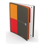 Blocco spiralato 18x25cm f.to notebook 80fg 80gr oxford international favorit