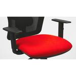 Coppia braccioli regolabili per sedia operativa TMTMI - nero - Unisit