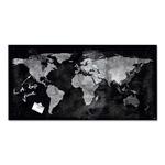 Lavagna magnetica in vetro 46x91cm world map artverum® sigel
