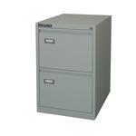 Classificatore Kubo - per cartelle sospese - 2 cassetti -46x62x70 cm - grigio - Bertesi