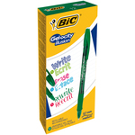 Scatola 12 penne gel cancellabili gelocity illusion 0.7mm verde bic