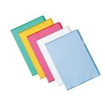 Cartelline a L - De Luxe - PPL - buccia - 21x30 cm - blu - Esselte - conf. 25 pezzi