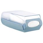 Dispenser per tovaglioli interfogliati - 42,8x14,8x22,5 cm - bianco - Mar Plast