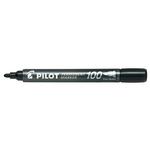 Marcatore Permanente Markers 100 - punta tonda 4,50mm - nero - Pilot