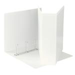Raccoglitore personalizzabile Display - 4 anelli quadri 65 mm - 22x30 cm - bianco - Esselte