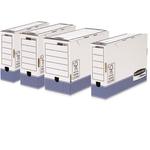 Scatola archivio Bankers Box System - formato legale - 36x25,5 cm - dorso 10 cm - Fellowes