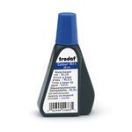 Inchiostro blu 28ml per timbro in gomma 7011 trodat