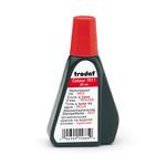 Inchiostro rosso 28ml per timbro in gomma 7011 trodat