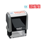 Timbro office printy \registrato\ trodat