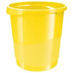 Cestino gettacarte Europost VIVIDA - 25,8 x28,5 cm - altezza 32,2 cm - 14 lt - giallo - Esselte