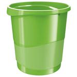 Cestino gettacarte Europost VIVIDA - 25,8 x28,5 cm - altezza 32,2 cm - 14 lt - verde - Esselte