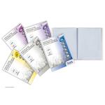 Portalistini personalizzabile Premium - liscio - 22x30 cm - 20 buste - trasparente - Favorit