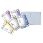 Portalistini personalizzabile Premium - liscio - 22x30 cm - 80 buste - trasparente - Favorit