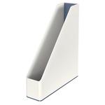 Portariviste WOW - 27,2x7,3x31,8 cm - grigio - Leitz