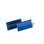 Buste identificative magnetiche - 100x38 mm) - Durable - conf. 50 pezzi