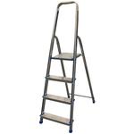 Scala domestica Stella Basic - 4 gradini - alluminio - Marchetti