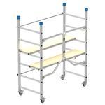 Trabattello Dinamico - alluminio - 168x75 cm - altezza 180 cm - Marchetti