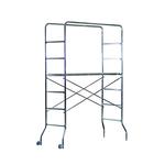 Trabattello Trio - acciaio zincato - 130x60 cm - altezza 188 cm - Marchetti