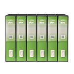 Registratore Dox 2 - dorso 8 cm - protocollo - greenery - Rexel
