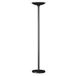 Lampada da terra Varialux - a led - base diametro 30 cm - altezza 175/186  cm-  22W - nero - Unilux