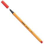 Fineliner Point 88 - tratto 0,4mm  - rosso chiaro - Stabilo