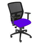 Seduta operativa ergonomica Kemper A - braccioli regolabili - blu - Unsit