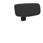 Poggiatesta per seduta ergonomica Kemper A - nero - Unisit