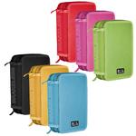Astuccio 3 zip colors - 13x20x7,5cm - colori assortiti - Ri.Plast