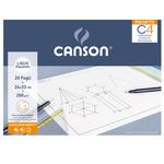 Album Pochette C4 - 240x330mm - 20fg - 200gr - liscio squadrato - Canson
