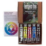 Scatola 5 tempera fine Primary - 20ml - colori primari - Maimeri