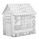 Modello Fairy Forest - 98x72x78cm - in cartone - 12 pennarelli jumbo inclusi - Joypac