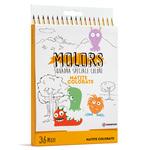 Matite colorate Molors - Osama - Astuccio 36 colori