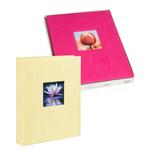 Album portafoto personalizzabile - assortiti - 24 x 31cm - 30fg - fogli in cartoncino con velina - Lebez