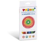 Matite colorate Minabella doppiocolore - diametro 3,8mm - Primo - Astuccio 12 pastelli colorati